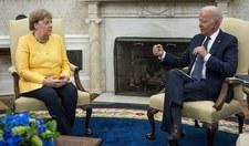 Biden spotkał się z Merkel. Rozmawiali m.in. o Nord Stream 2