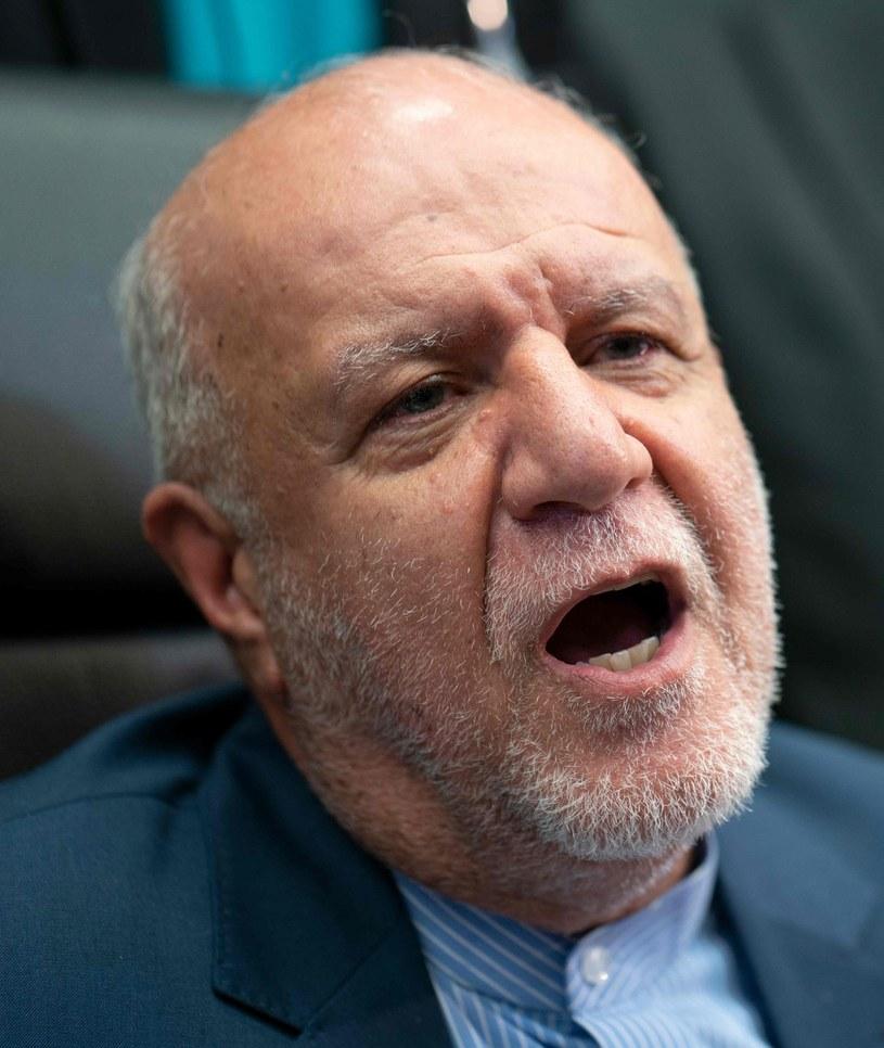 Bidżan Namdar Zanganeh, minister ds. ropy naftowej Iranu /AFP