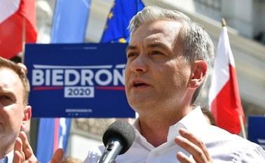 Biedroń: Czy prezydent demokratycznego kraju powinien nazywać kogokolwiek nieczłowiekiem?