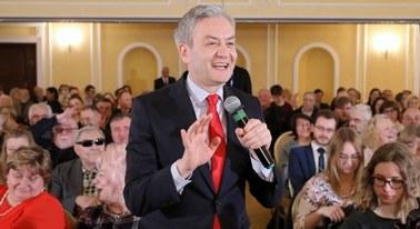Biedroń: Zaczynamy jak Kwaśniewski, a skończymy w Pałacu Prezydenckim
