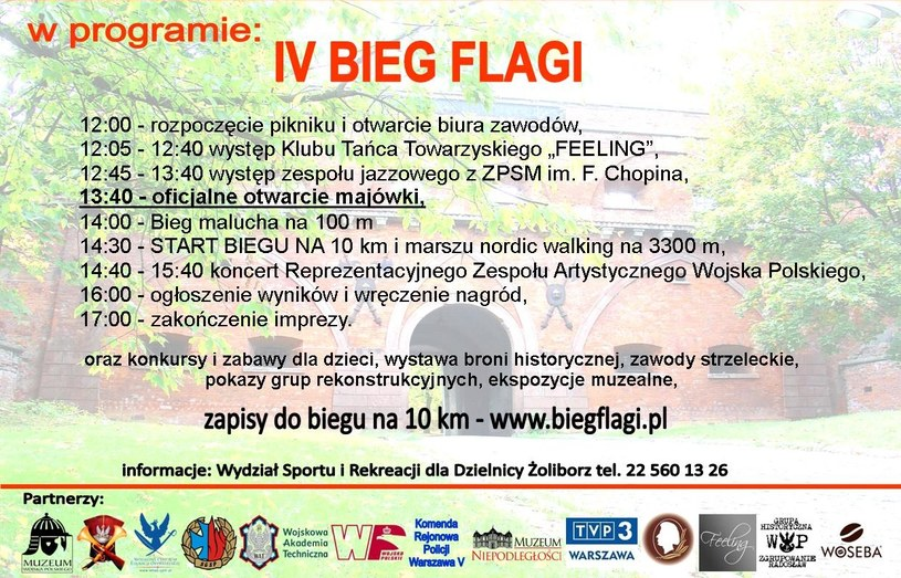 Bieg Flagi 2016 /Mat. prasowe /