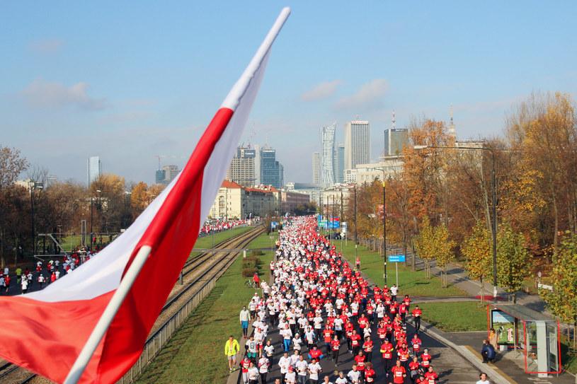 Bieg Niepodległości w Warszawie /materiały prasowe