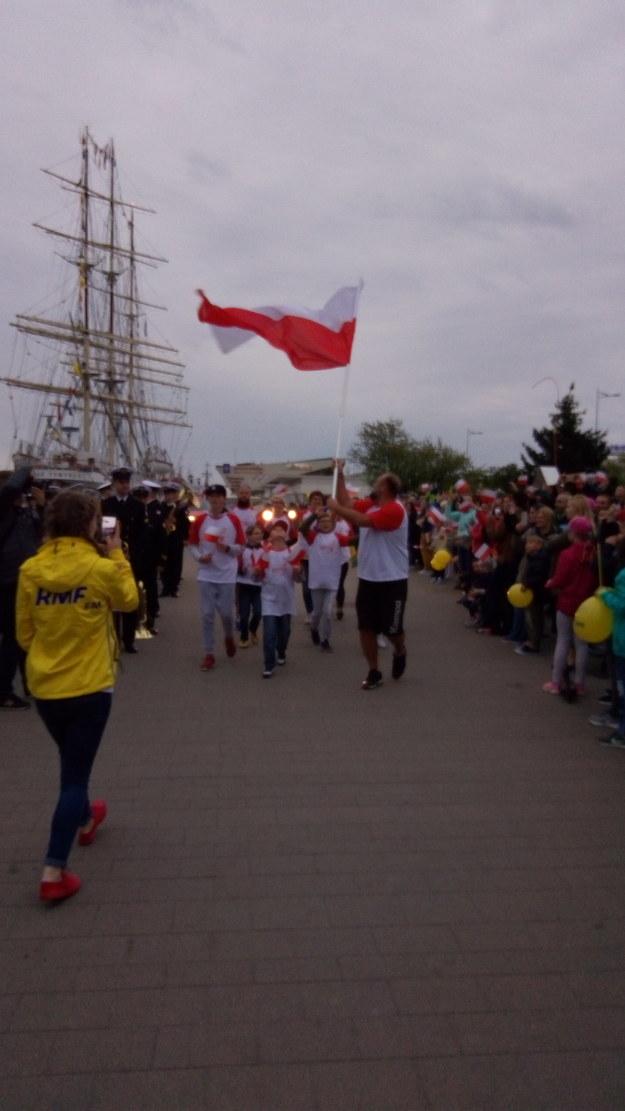 Bieg w Gdyni /Joanna Kocot /RMF FM