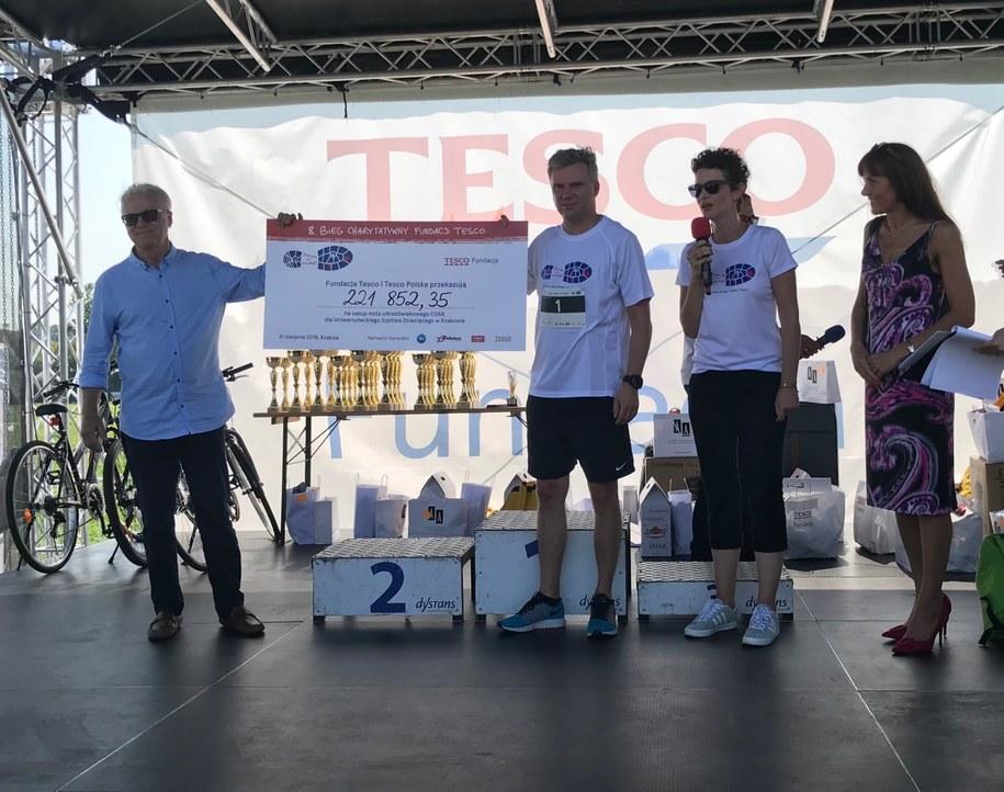 Biegacze nie zawiedli – ponad 220 tys. wsparcia dla Szpitala Dziecięcego w Prokocimiu /Materiały prasowe