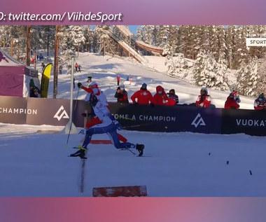 Biegi narciarskie. Skinder ze złotem, Kaleta z brązem. Piękny finisz Polek na MŚJ w biegach narciarskich. Wideo