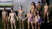 Bielizna Rihanny na zamknięcie Fashion Week w Nowym Jorku