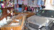 """Bielsko-Biała: Brawurowe """"parkowanie"""" w sklepie"""