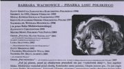 Biesiada Literacka z Barbarą Wachowicz