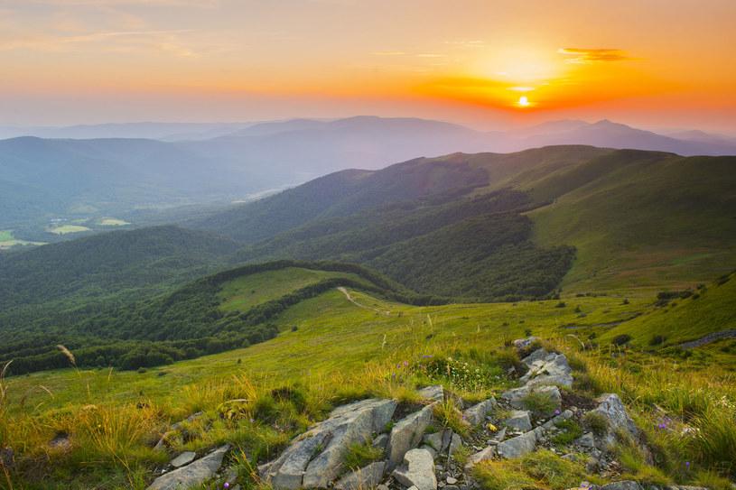 Bieszczady położone są w województwie podkarpackim. Kuszą dziką przyrodą i pięknymi widokami /123RF/PICSEL