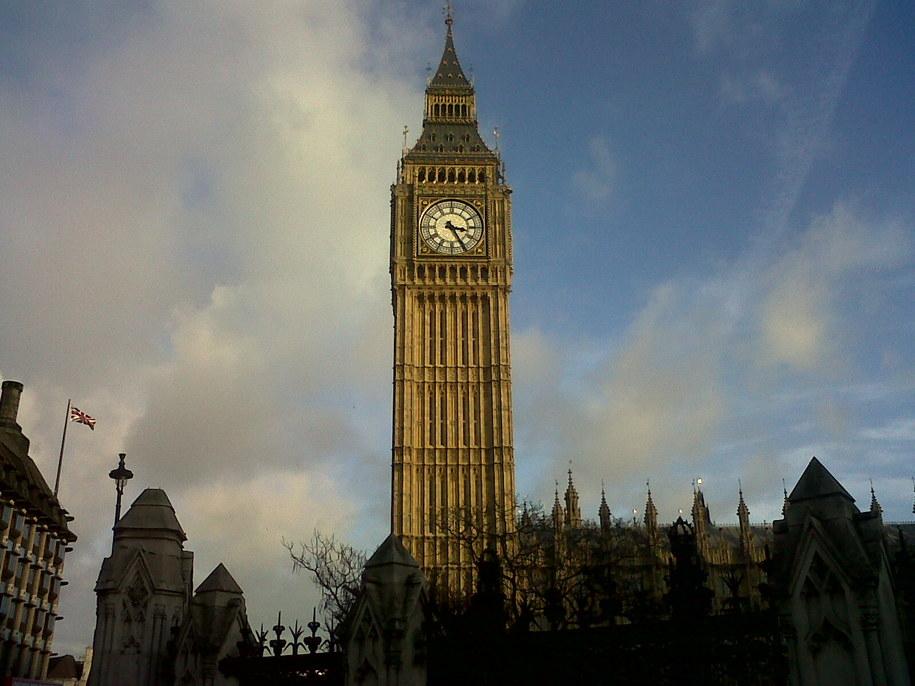 Big Ben w Londynie /Bogdan Frymorgen /RMF FM