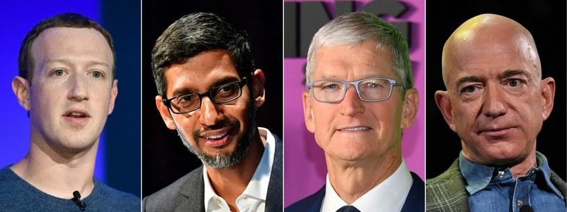 Big Tech, to cztery największe firmy technologiczne z USA