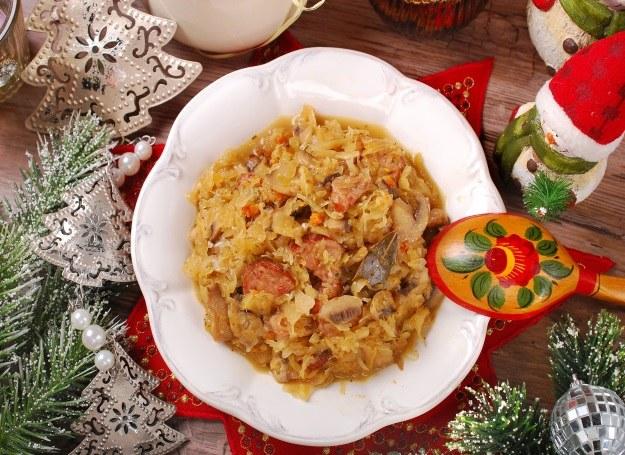 Bigos na świątecznym stole /123RF/PICSEL