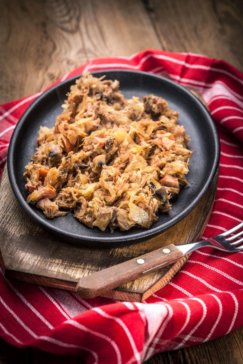 Bigos to tradycyjne polskie danie /123RF/PICSEL