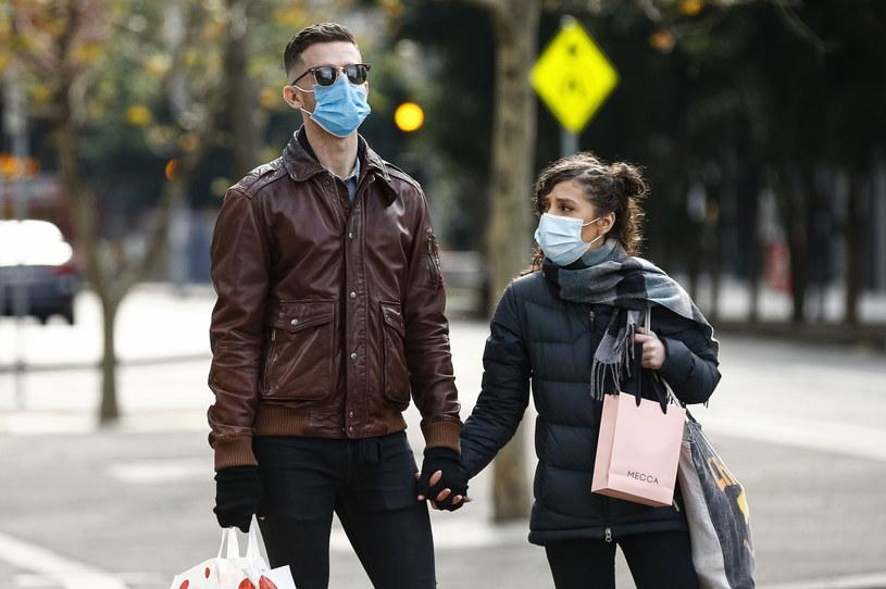 Bilans ofiar śmiertelnych od początku epidemii koronawirusa dla całej Australii wynosi 108 /DANIEL POCKETT /PAP/EPA