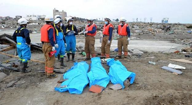 Bilans śmiertelnych ofiar kataklizmu w Japonii wciąż rośnie /AFP