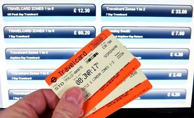 Bilety na brytyjską kolej (po podwyżce) /EPA