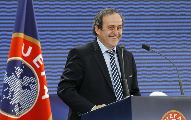 Bilety na Euro 2012 można zamawiać tylko do czwartku. Na zdj. Prezydent UEFA Michel Platini /AFP