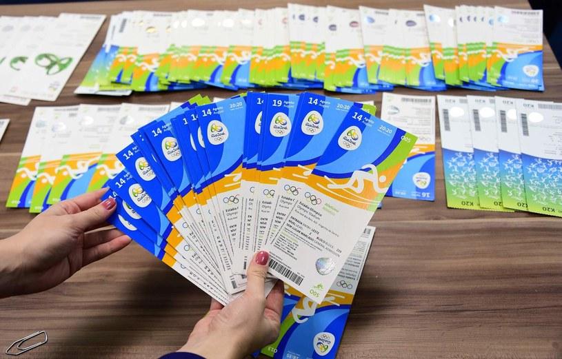Bilety na wydarzenia sportowe podczas igrzysk w Rio de Janeiro /AFP
