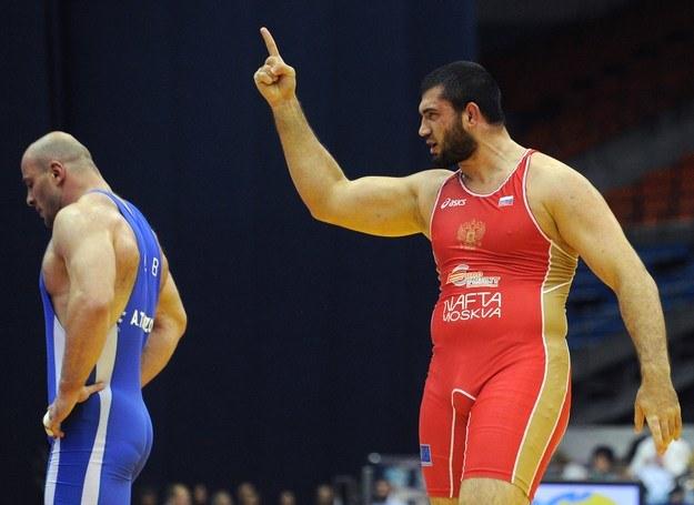 Biljał Machow (z prawej) /AFP