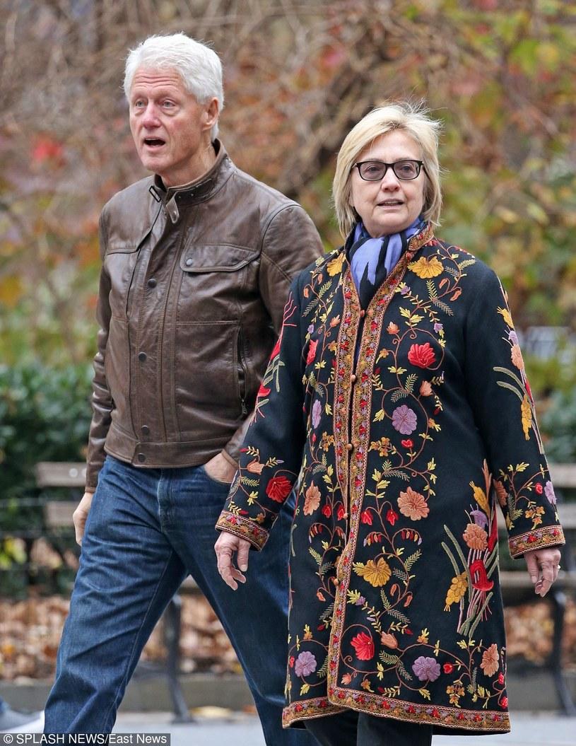 Bill Clinton i Hillary Clinton /East News