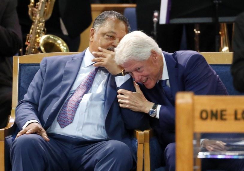 Bill Clinton zachował się niewłaściwie? /AP /East News