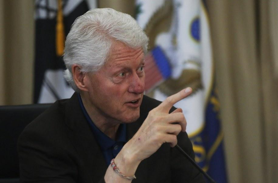 Bill Clinton /Thais Llorca /PAP/EPA