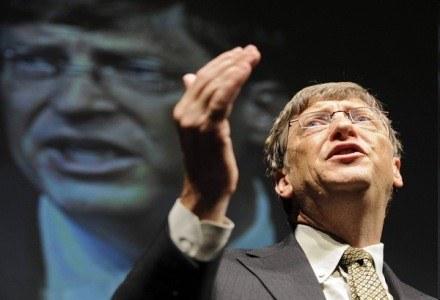 Bill Gates - człowiek, który napadł na pociąg /AFP