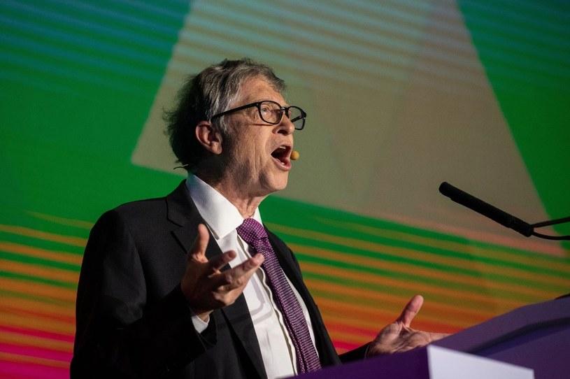 Bill Gates inwestuje w projekty mające na celu zahamowanie globalnego ocieplenia /AFP