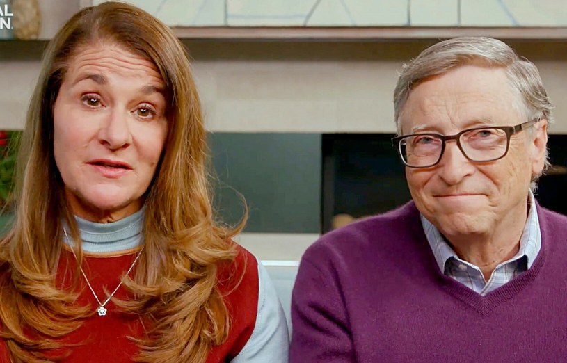 Bill Gates, Melinda Gates /Handout /East News