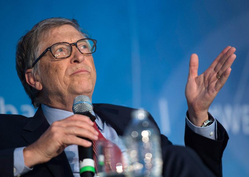 Bill Gates ostrzega - świat jest w niebezpieczeństwie /AFP