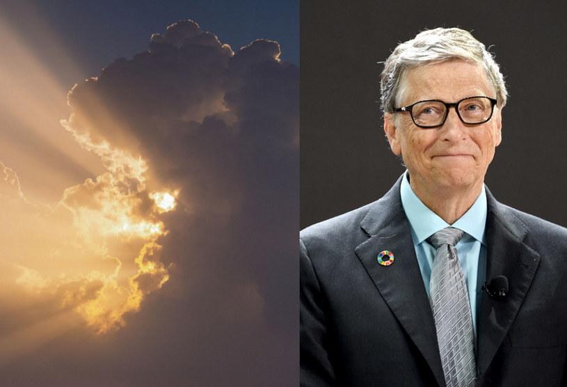Bill Gates sponsoruje bardzo nietypowy eksperyment - zablokuje światło słoneczne nad Szwecją /AFP