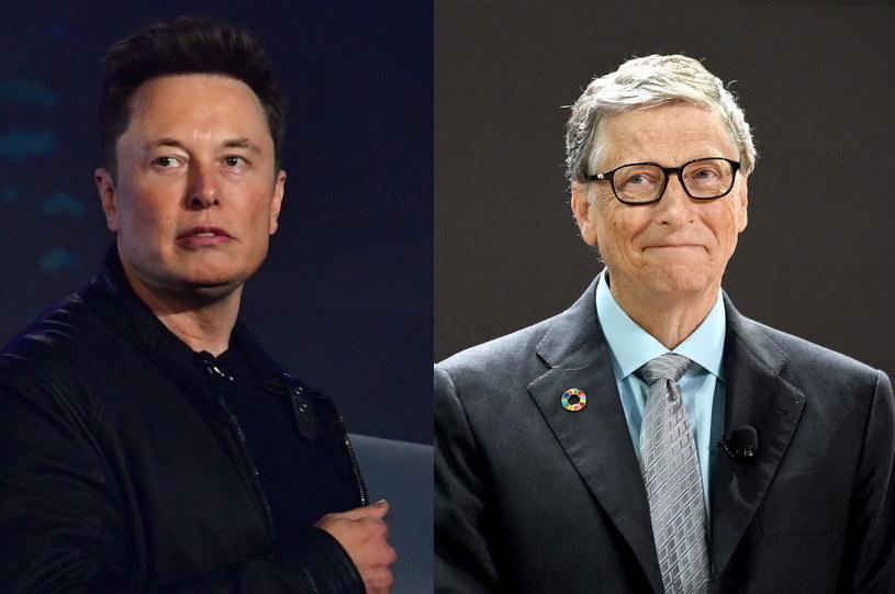 """Bill Gates twierdzi, iż komentarze Muska są """"oburzające"""". /AFP"""