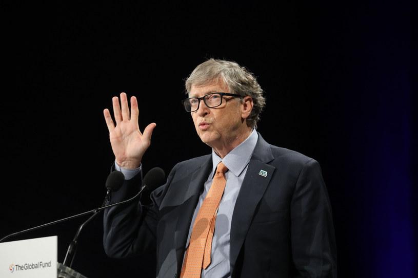 Bill Gates twierdzi, iż zakup TikToka może być niekorzystny dla Microsoftu /LUDOVIC MARIN/AFP/East News /East News