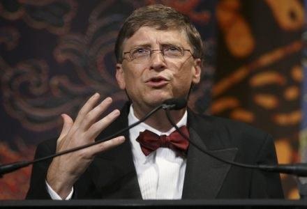 Bill Gates wierzy w roboty /AFP