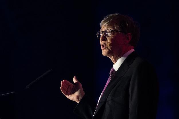 Bill Gates zaczynał swój pierwszy biznes w garażu... /AFP