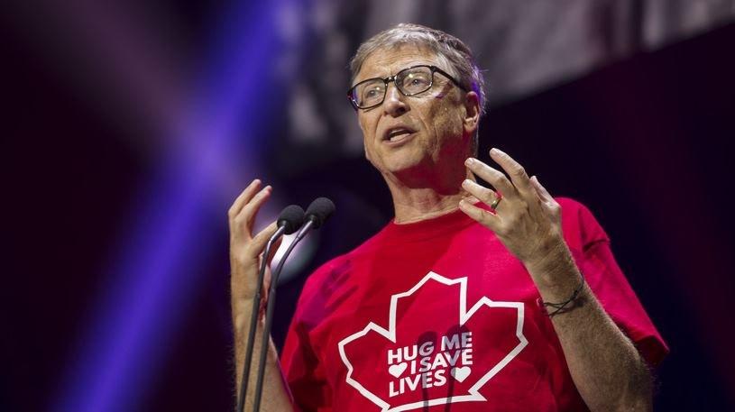 Bill Gates zajmuje się tematem odnawialnych źródeł energii od dłuższego czasu /AFP