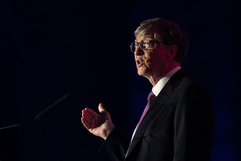Bill Gates, założyciel Microsoftu /AFP