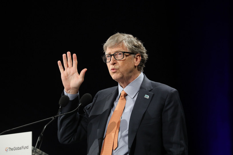 Bill Gates /LUDOVIC MARIN/AFP/East News /East News