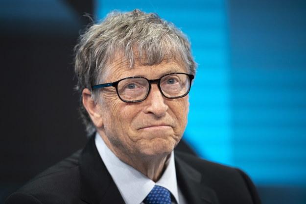 Bill Gates /GIAN EHRENZELLER /PAP/EPA