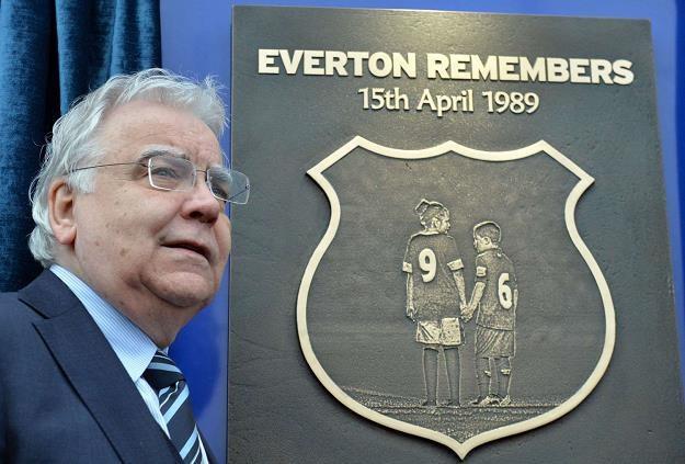 Bill Kenwright, prezes Evertonu /AFP