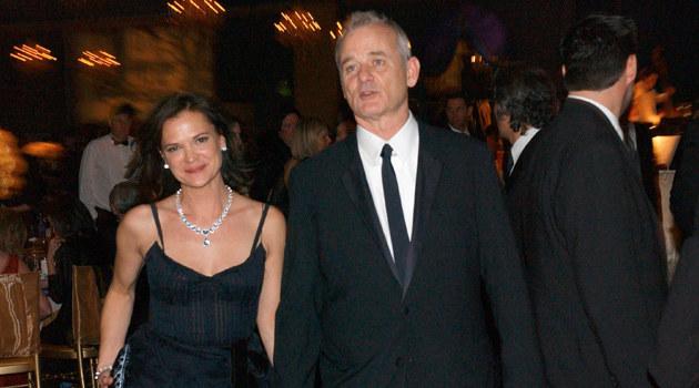 Bill Murray z żoną  /Splashnews