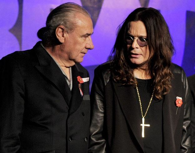 Bill Ward i Ozzy Osbourne w 2011 roku (fot. Kevin Winter) /Getty Images/Flash Press Media