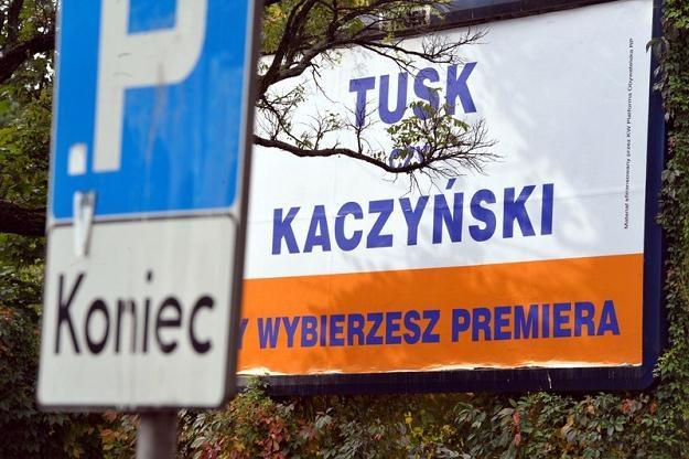 Billboard Platformy Obywatelskiej / fot. Jacek Domiński /Reporter