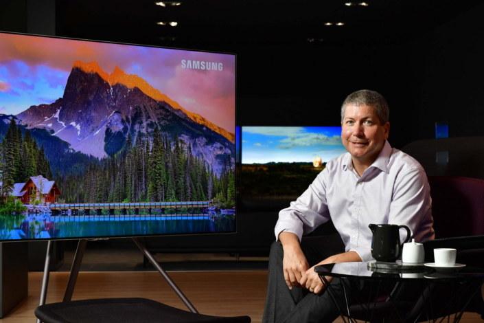 Billem Mandel z Samsunga tłumaczy, czym jest HDR10+ /materiały prasowe