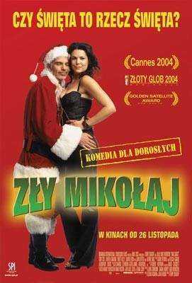 Billy Bob Thornton jako św. Mikołaj wcale nie rozdaje, tylko kradnie. /