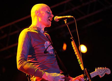 Billy Corgan w czasie koncertu /AFP