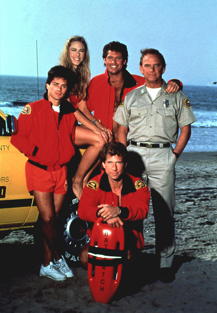 Billy Warlock, David Hasselhoff, Gregory Alan Williams, Parker Stevenson, Shawn Weatherly /AKPA