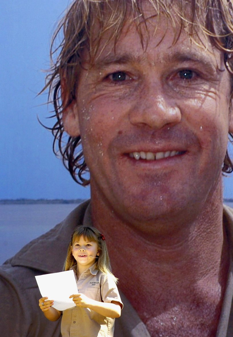 Bindi Irwin jest córką zmarłego w 2006 roku Steve'a Irwina /Pool /Getty Images