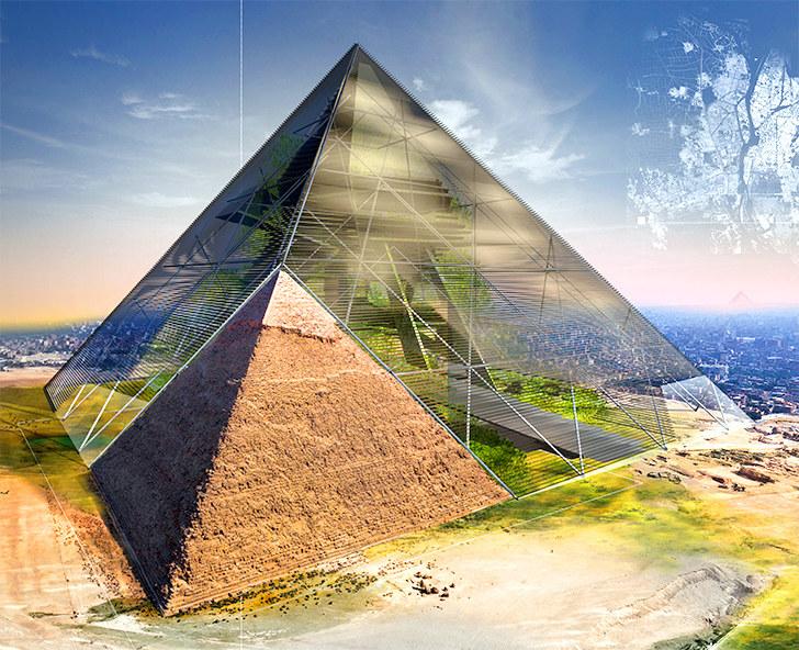 Bio-Pyramid /fot. Evolo /materiały prasowe