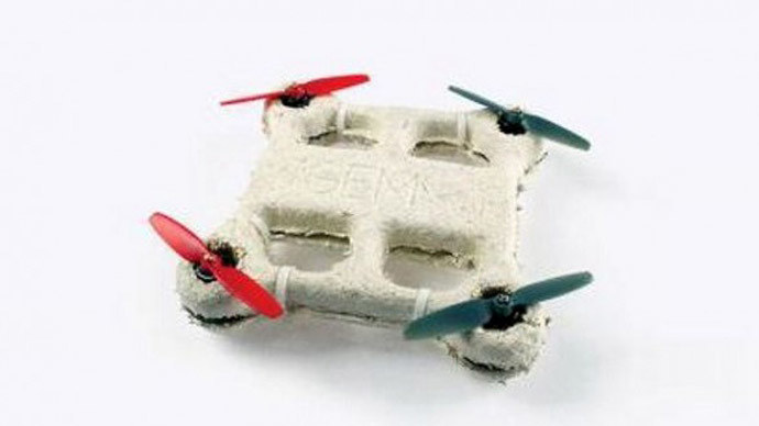 Biodegradowalne drony to przyszłość armii (Fot. CNASA/Ames) /materiały prasowe